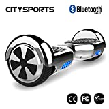 CITYSPORTS Hoverboard 6,5 Zoll, Balance Board Smart Scooter 2x350W mit LED