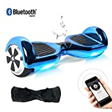BEBK Hoverboard, 6.5' Self Balance Scooter mit 2 * 350W Motor, LED Lights Elektro Scooter (031)