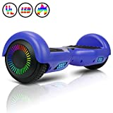 Huanhui 6.5' Hoverboard Elektro Scooter, Bluetooth Lautsprecher, Starker Dual Motor 2 * 300W, LED...