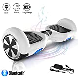COLORWAY Hoverboard Self Balance Board Elektro Scooter Roller EU Sicherheitsstandard, mit Bluetooth...