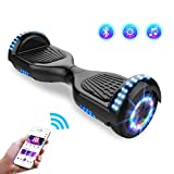 Hoverboards Self-Balancing Scooter, Elektro Scooter 6,5zoll Scooter Kinder Bluetooth Scooter mit...