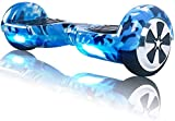 TOEU Hoverboard 6.5' Self Balance Scooter mit Bluetooth - Elektro Scooter Geschenk für Kinder (Army...