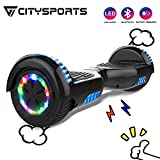 CITYSPORTS Hoverboard 6,5 Zoll Self Balance Scooter Bluetooth, Self-Balance Board Motor 700W mit...