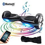 TOEUBEBK Hoverboard, 6.5 Zoll Self Balance Scooter mit LED Lights Elektro Scooter E-Skateboard...