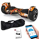 Viron SUV Hoverboard 8,5 Zoll 800 Watt - GPX-04 - Ares mit APP Funktion, Bluetooth, Kinder...