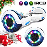 RCB Hover Scooter Board 6.5' Self Balancing Scooter Elektro Scooter E-Skateboard mit bunten Lichter...