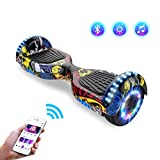 Hoverboards Self-Balancing Scooter, Elektro Scooter 6,5zoll Hover Scooter Board Bluetooth Scooter...