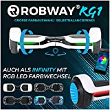 Robway RG1 Hoverboard - Das Original - Self Balance - 11 Farben - Bluetooth - 2 x 350 Watt Motoren -...