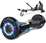 SOUTHERN-WOLF Self-Balancing Scooter, Hoverboard 6,5zoll Hover Scooter Board Bluetooth Scooter mit...