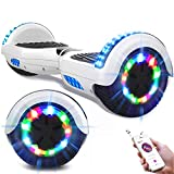 GeekMe Hoverboards,Self Balancing Scooter 6.5',Elektroroller mit Bluetooth-Lautsprecher,...