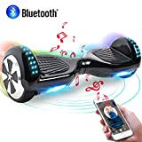 Windgoo Hoverboard, 6.5' Self Balance Scooter mit Bluetooth Lautsprecher, 2 * 250W Motor, LED...