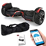 SUV Hoverboard 8,5 Zoll 800 Watt - GPX-04 - Ares mit APP Funktion, Bluetooth, Kinder...