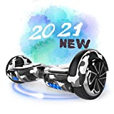 SOUTHERN-WOLF Hoverboard Self-Balancing Scooter, 6,5zoll Hover Scooter Board Bluetooth Scooter mit...