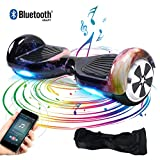 Windgoo Hoverboard, 6,5 Zoll Self Balance Scooter mit Bluetooth Lautsprecher, LED Lights Elektro...
