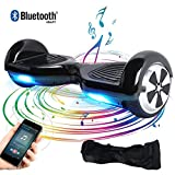 BEBK Hoverboard, 6.5' Elektro Scooter mit Bluetooth Lautsprecher, 500W Motor, LED, Self-Balance...