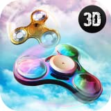 Craze Real Life Fidget Hand Spinner Simulator: Hand Toy Virtual Swiping and Floating Game For Boys...
